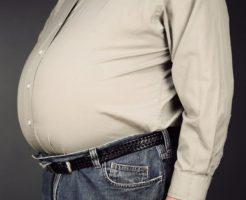 太った人と痩せた人のうつ病になりやすいリスクの差