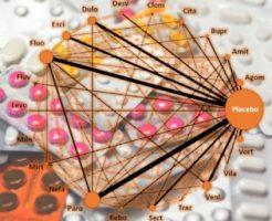 抗うつ薬の効果と副作用を京都大学が評価した